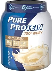 Pure Protein Whey Protein Concentrate Powder