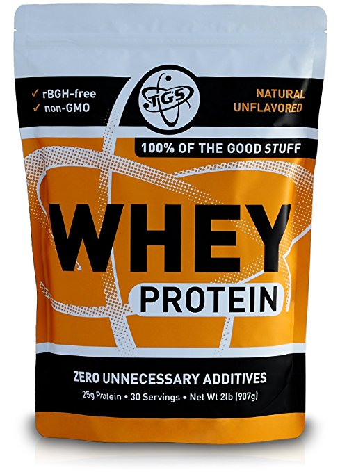 TGS Nutrition All Natural 100% Whey Protein Powder