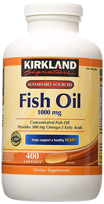Kirkland Signature Concentrate Omega 3 Softgels
