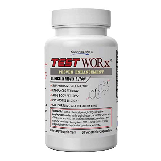 Superior Labs TEST WORx Natural Testosterone Booster