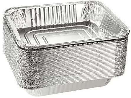 DCS Deals Deep Aluminum Foil Disposable Cookware, 30-Pack