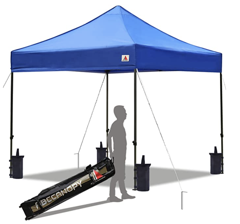 ABC CANOPY Patio Pop-Up Canopy Tent