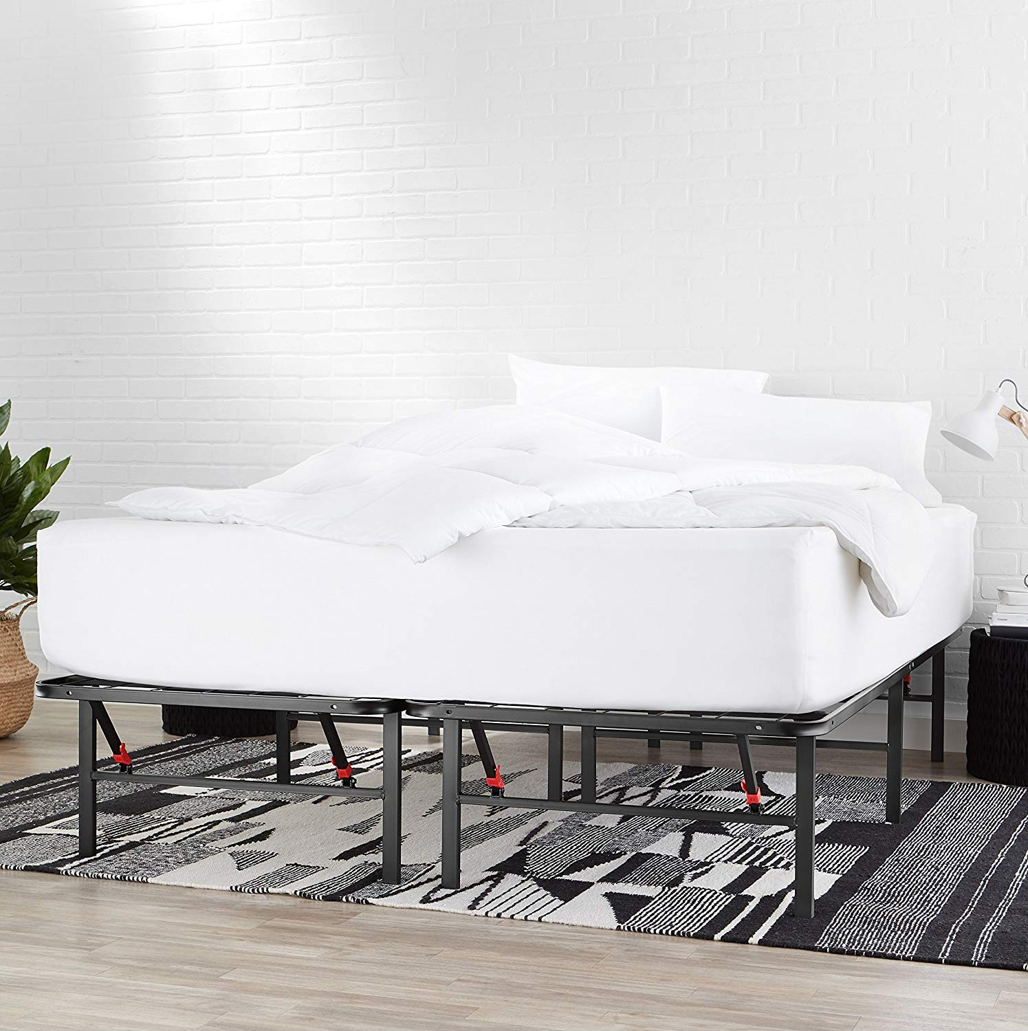 AmazonBasics Foldable Metal Platform Bed Frame