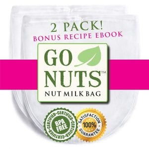 Go Nuts Nut Milk Bag, 2 pk