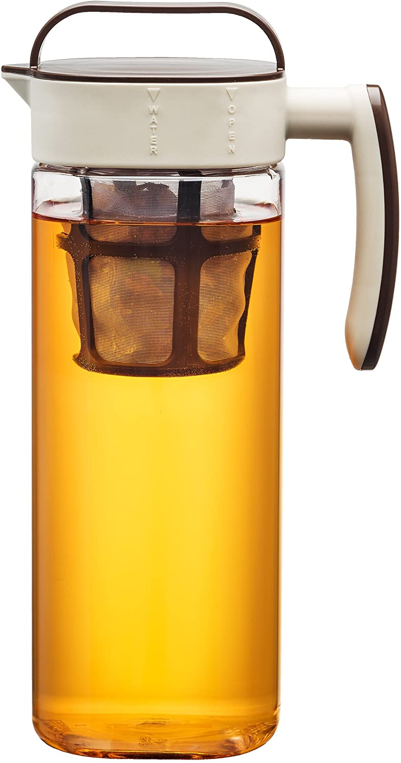 Komax Tritan Clear BPA-Free Iced Tea Maker, 2.1-Quart