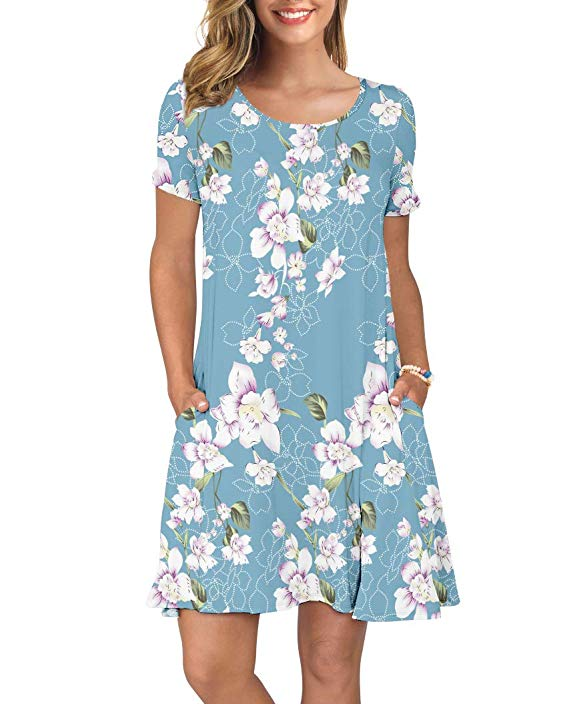 KORSIS T-Shirt Dress with Pockets