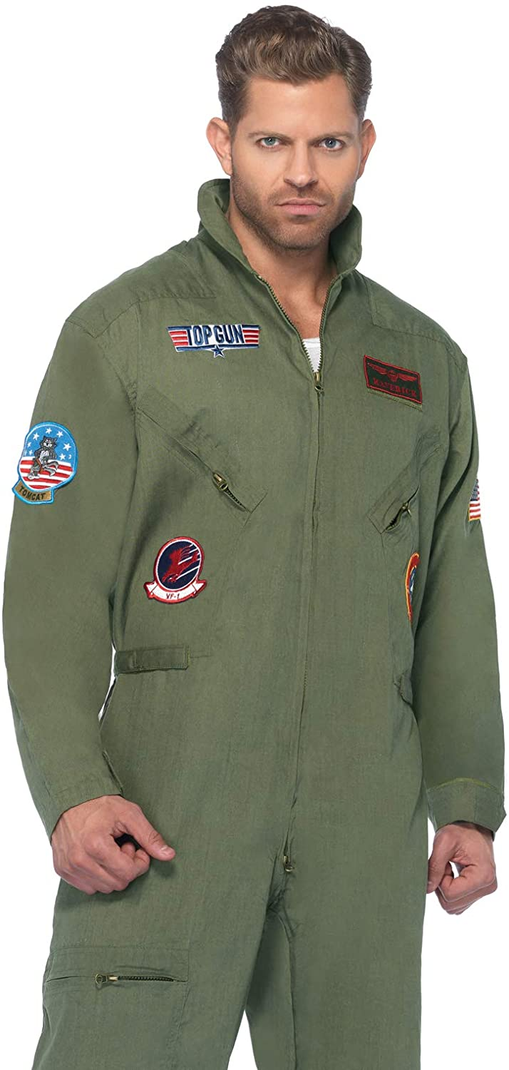 Leg Avenue Top Gun Flight Suit Costume For Men