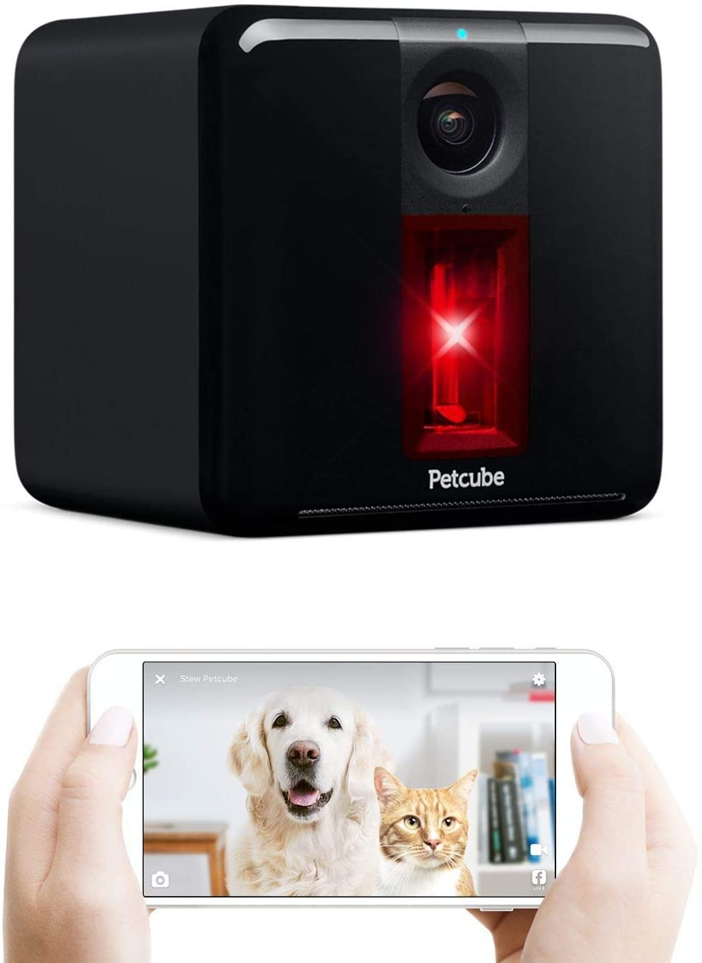 Petcube Pet Camera with Interactive Laser Toy