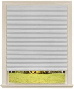 Redi Shade Original Light Filtering Pleated Paper Shade Blinds, 6-Pack