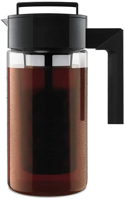 Takeya Patented Airtight Cold Brew Iced Coffee Maker, 1-Quart