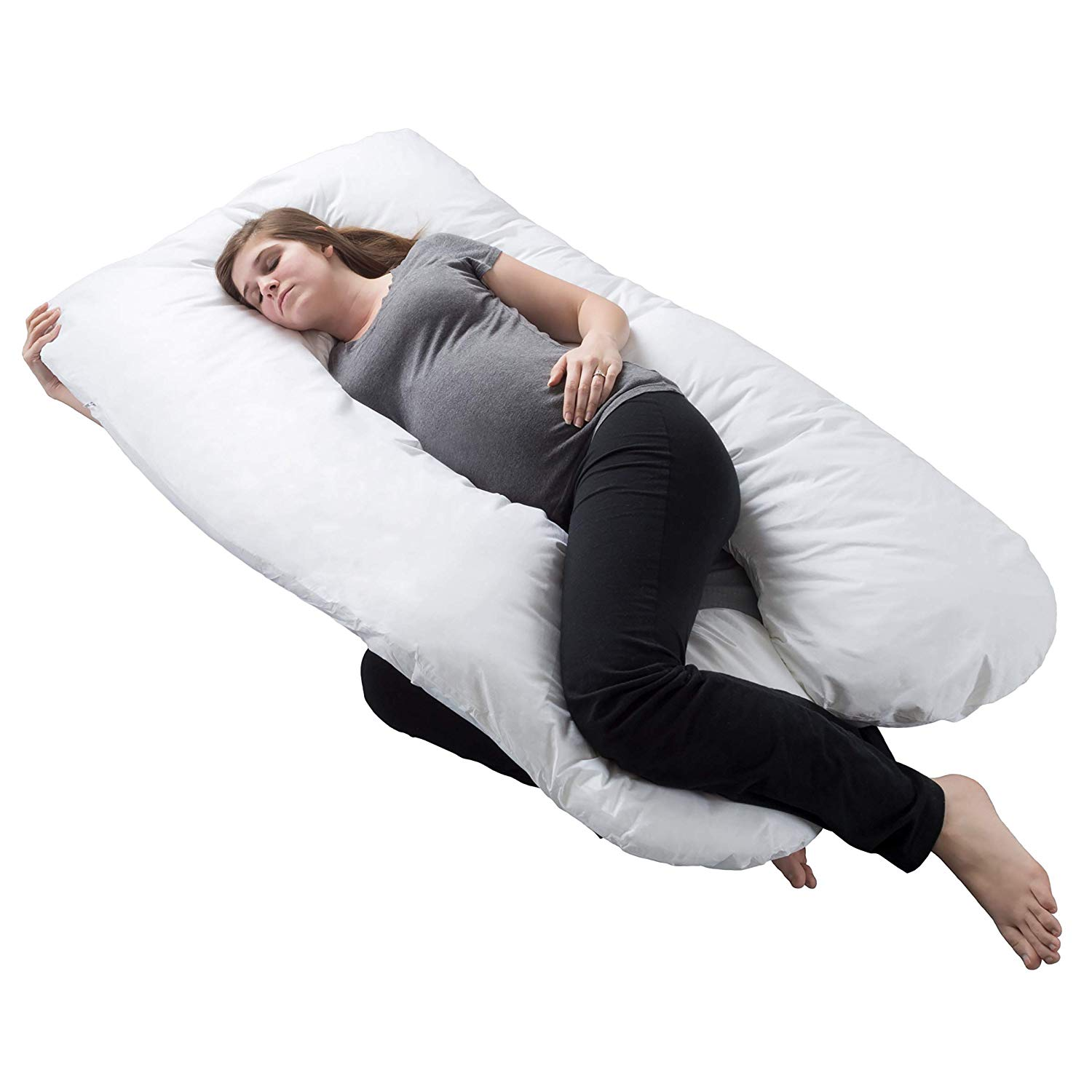 Trademark GLB Full Body Maternity Pillow