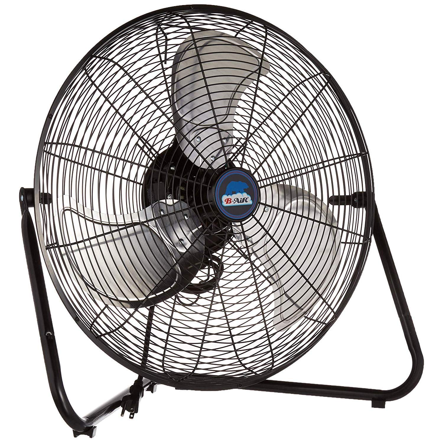 B-Air FIRTANA-20X High Velocity Electric Industrial and Home Floor Fan, 20″