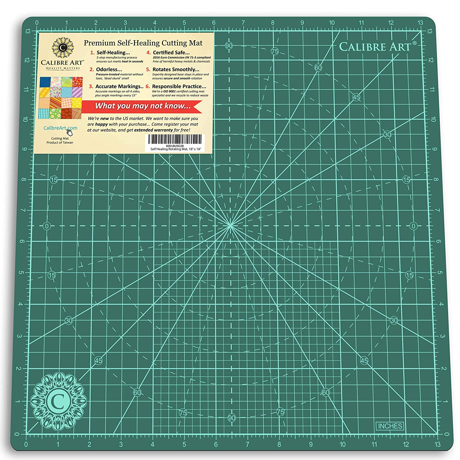 Calibre Art Rotating Self-Healing Cutting Mat