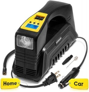 Kensun Portable Air Compressor Pump, 12V