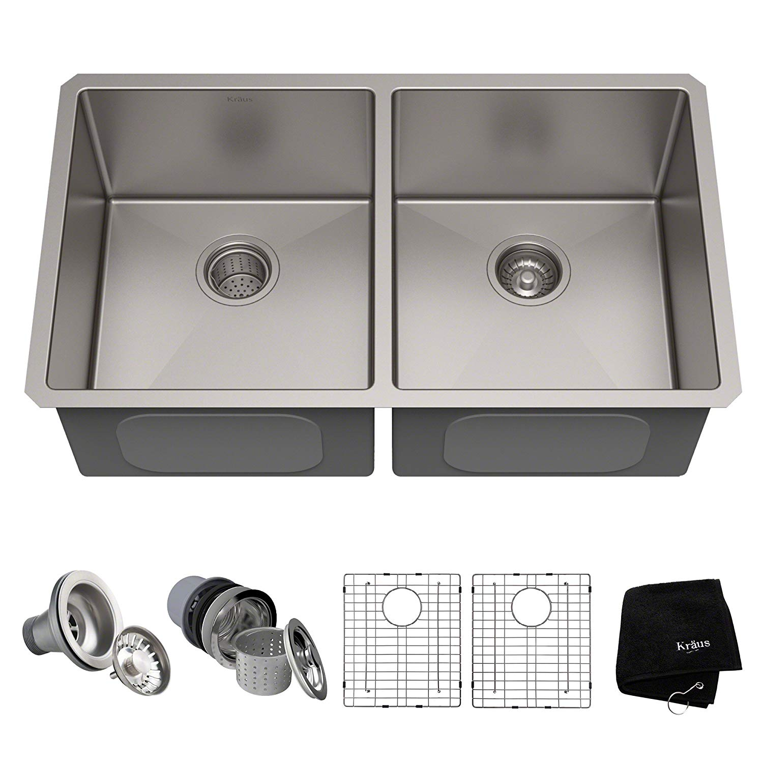 Kraus Undermount Double Bowl Sink
