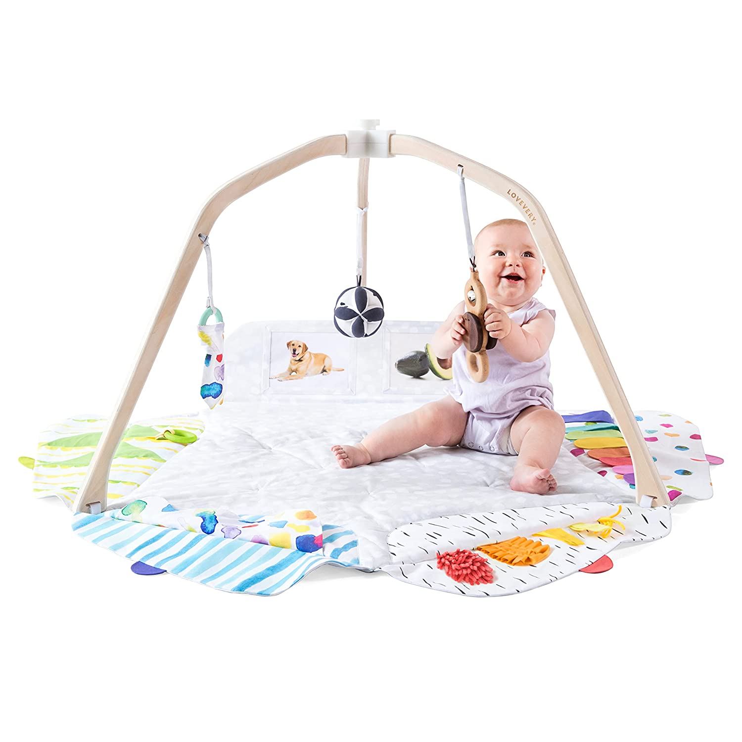 Lovevery The Play Gym, Stage-Based Baby Play Mat