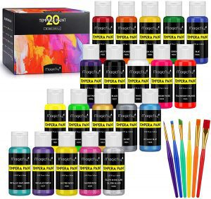 Magicfly Washable Paint For Kids, 20-Pack