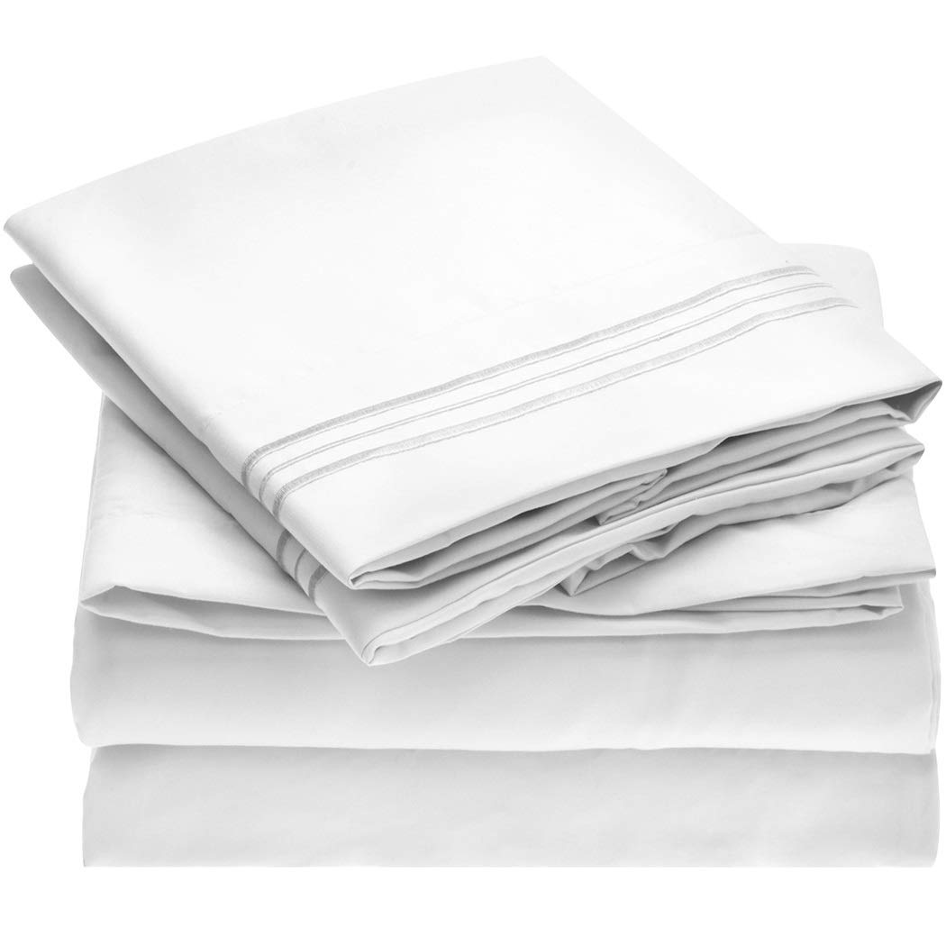 Mellanni 1800 Thread Sheet Set