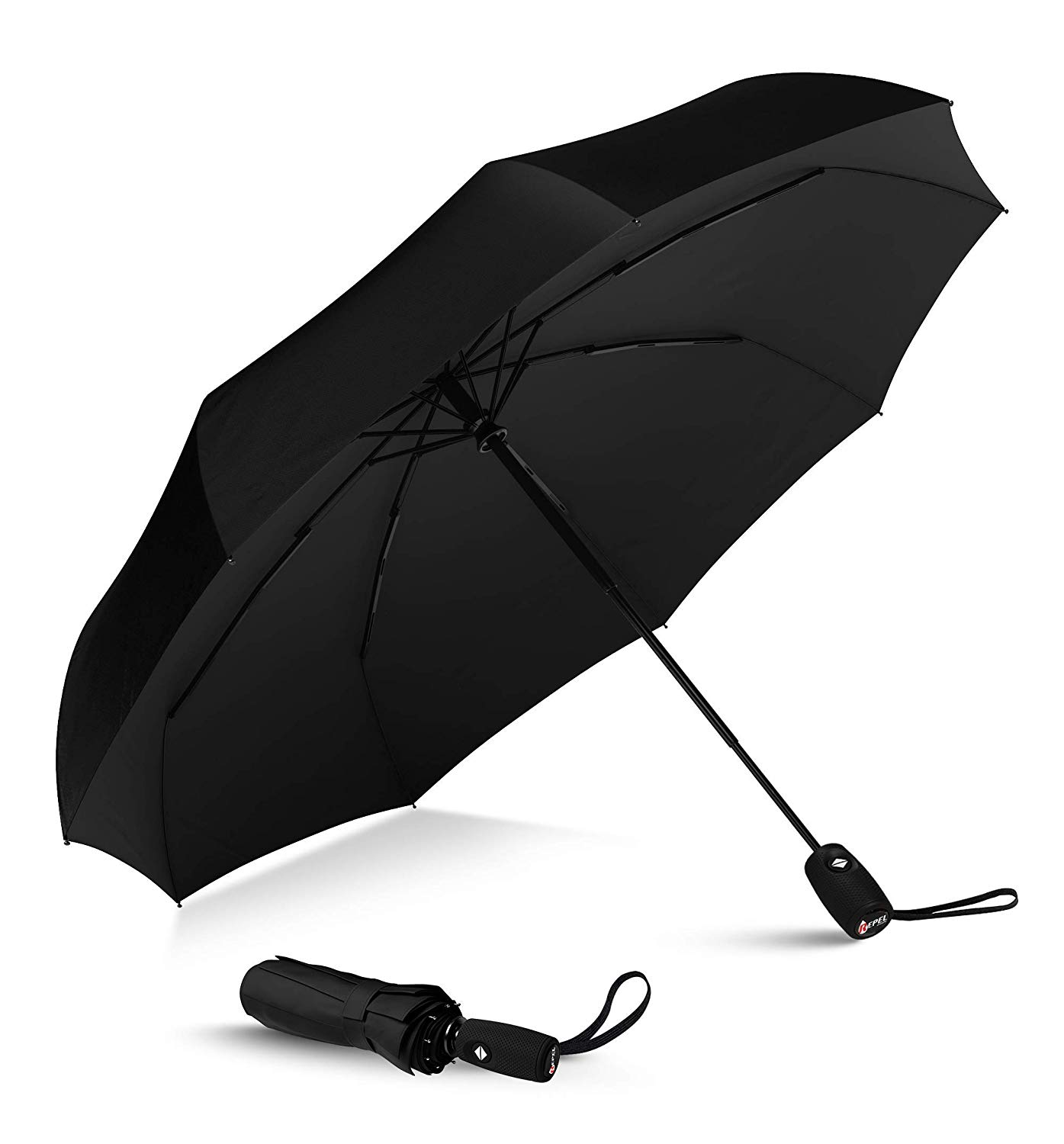 Eez Y Compact Double Vented Travel Umbrella