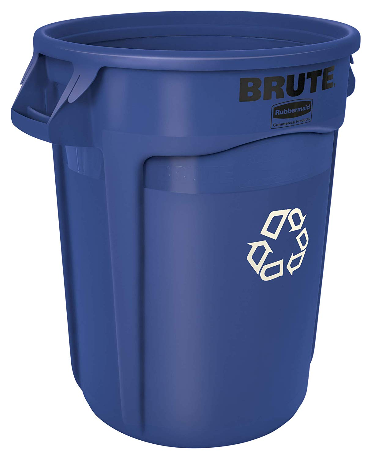 Rubbermaid FG263273 BRUTE Heavy-Duty Round Recycling Bin