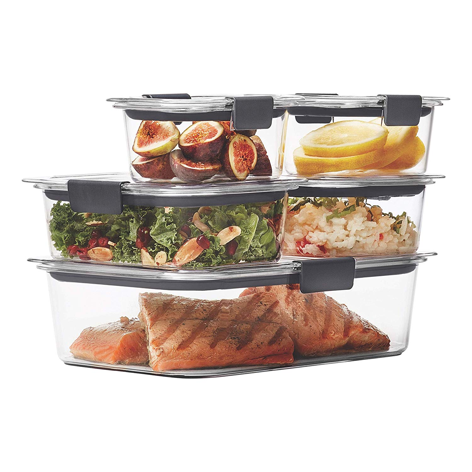 Rubbermaid Leak-Proof Food Storage Containers