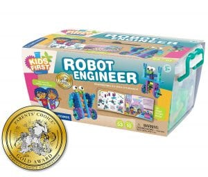 Thames & Kosmos Engineer Kit STEM Robot Kit Storybook