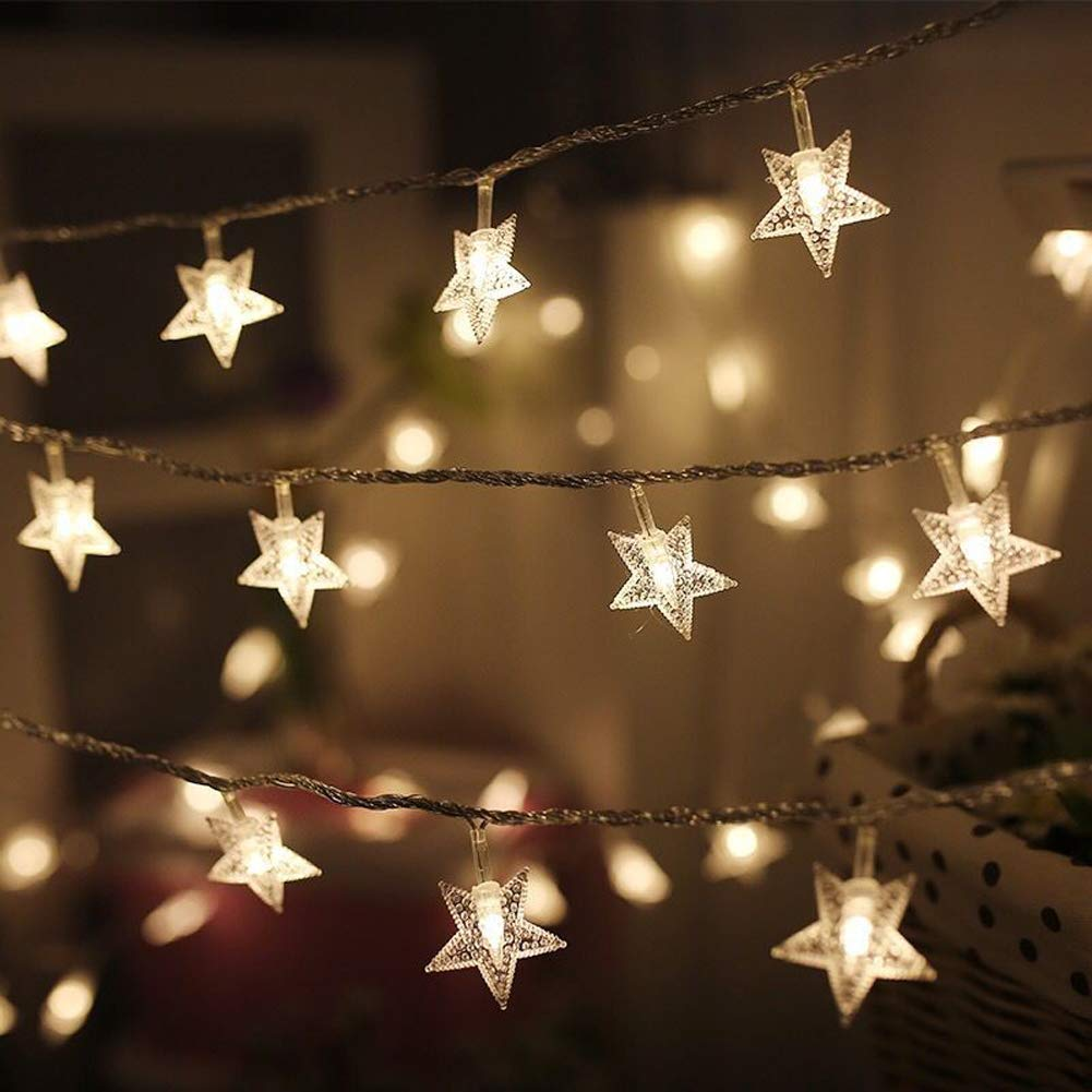 Twinkle Star Star String Lights