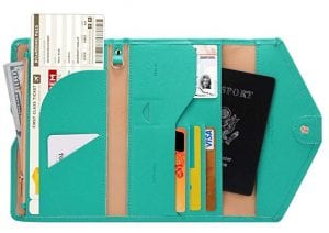 Zoppen Multi-Purpose RFID Passport Travel Wallet