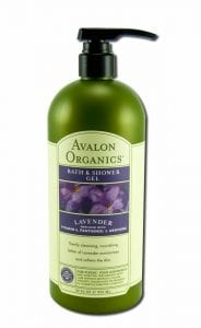 Avalon Organics Nourishing Body Wash, Lavender