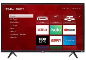 TCL 40-Inch Smart LED Roku TV