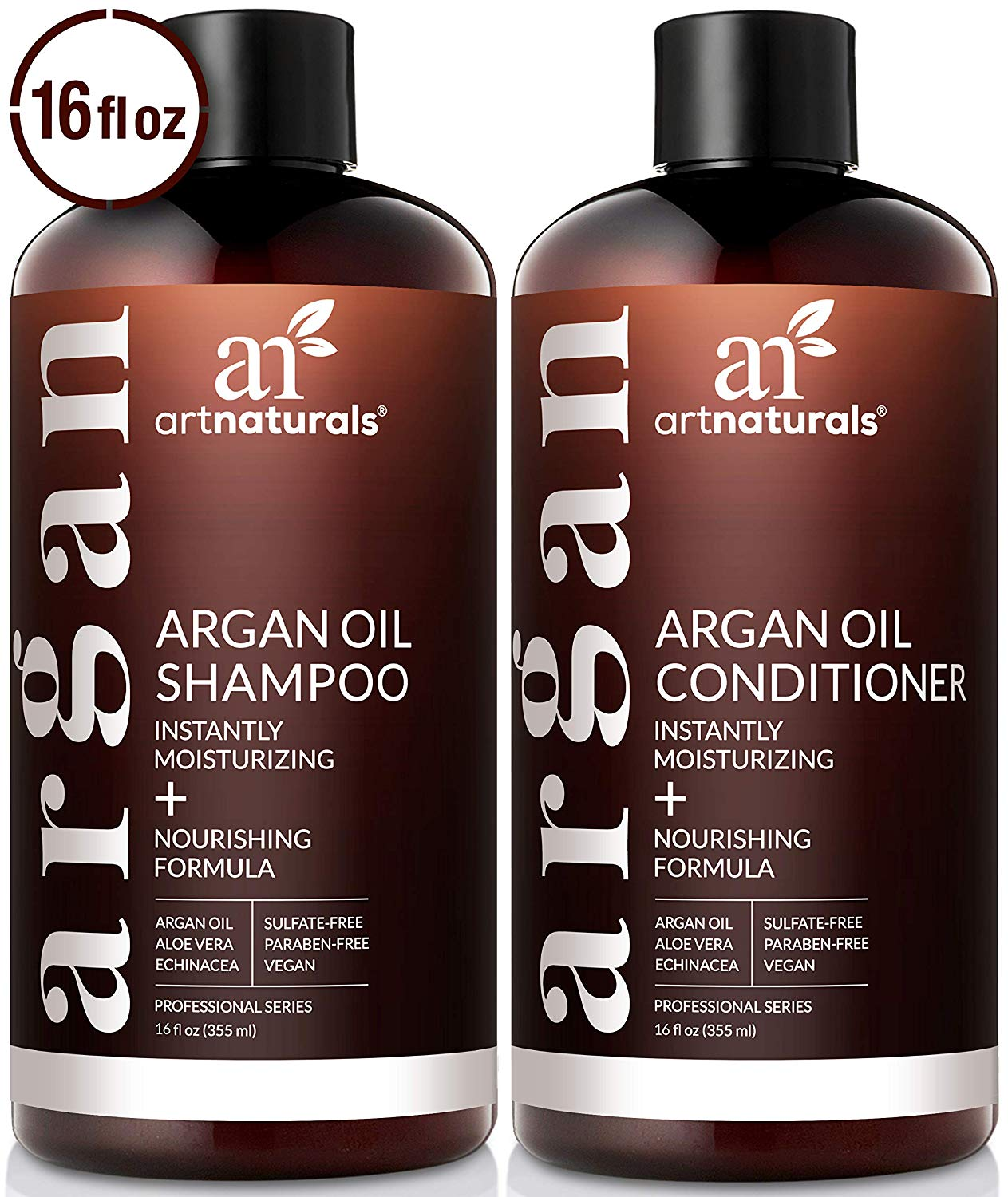 ArtNaturals Organic Shampoo and Conditioner Set