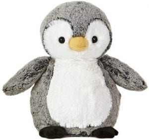 Aurora Plush Penguin, 9.5-Inch
