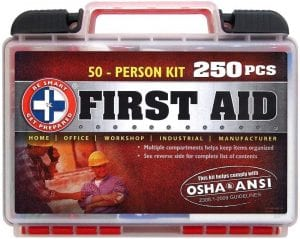 Be Smart Get Prepared First Aid Kit, 250 Piece