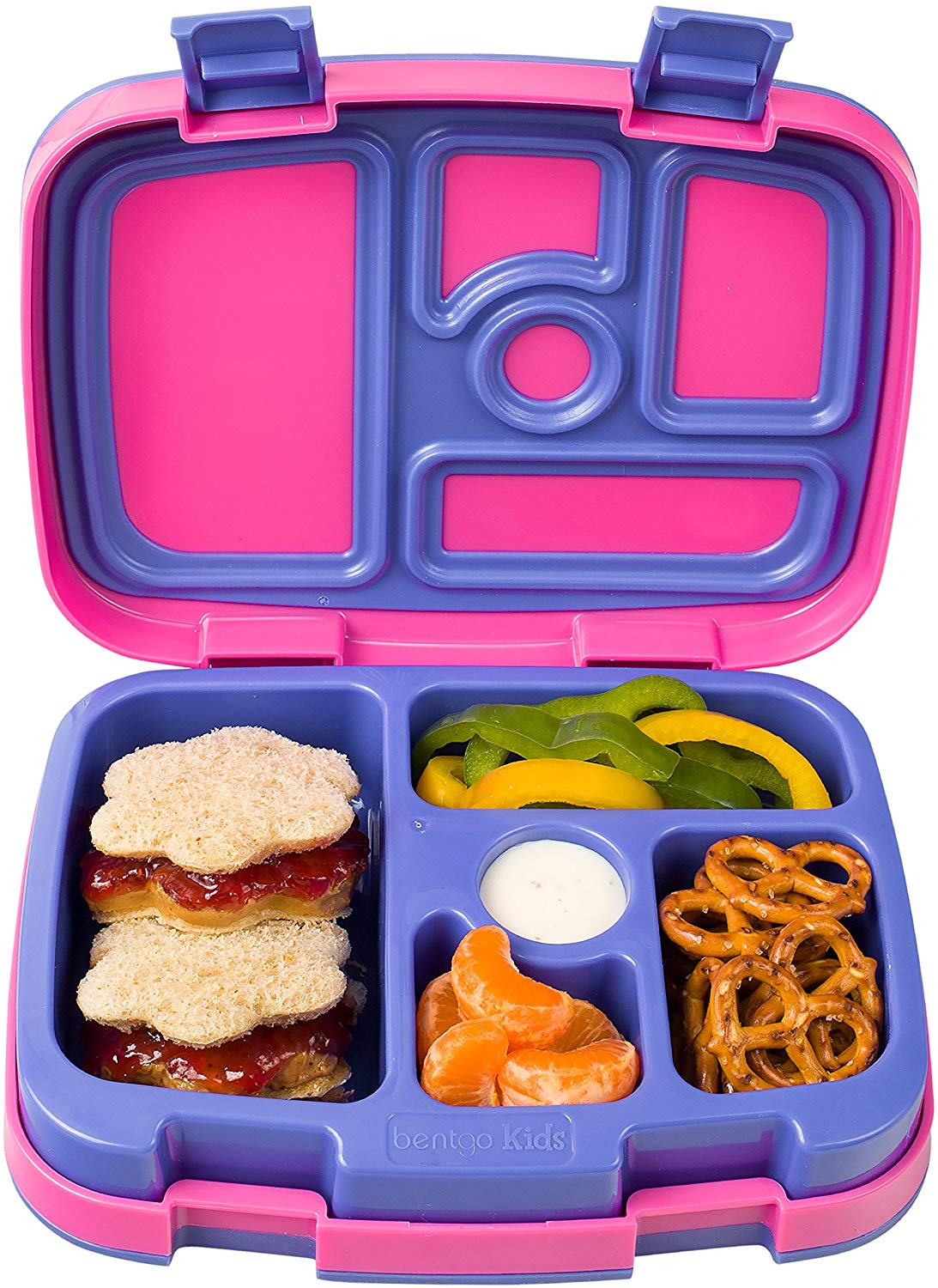 Bentgo Kids Brights Leak-Proof, 5 Compartment Bento-Style Kids Lunch Box