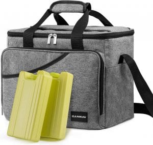 CANWAY Large Cooler Bag, 40-Can