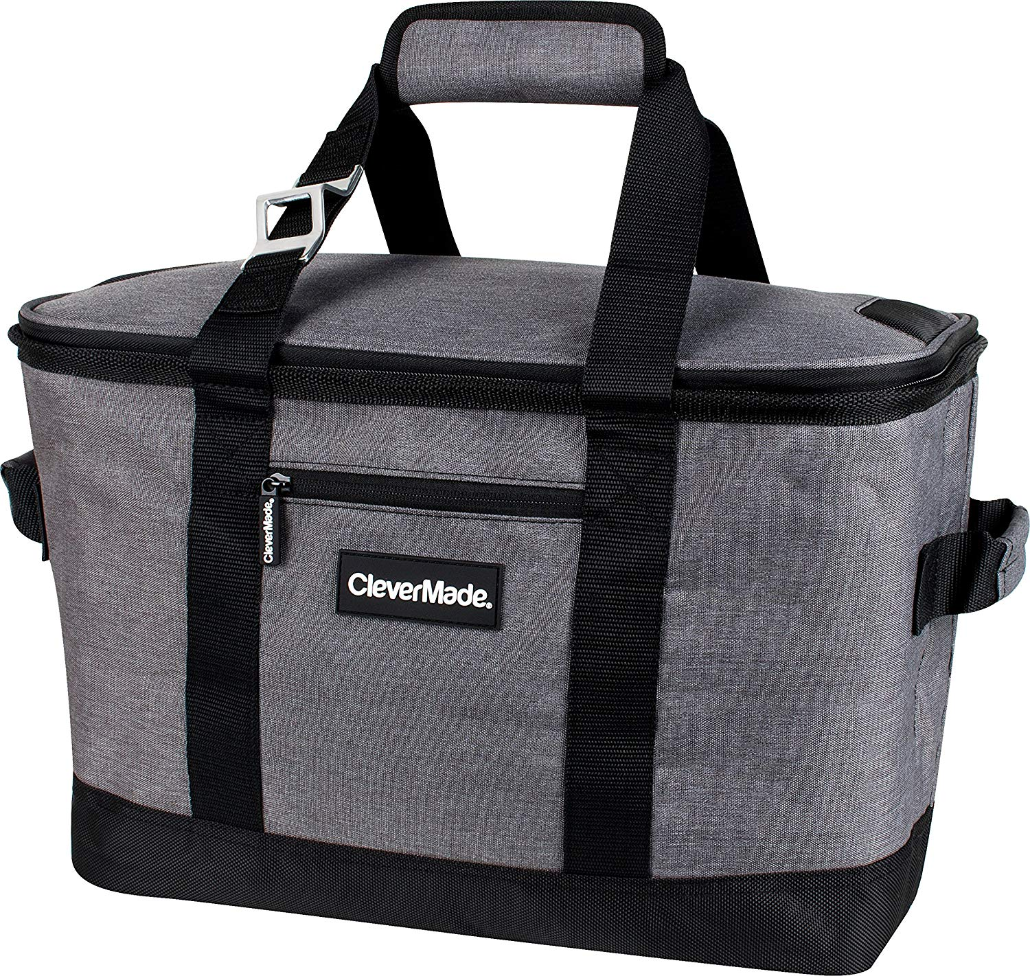 CleverMade Collapsible Cooler Bag, 50-Can