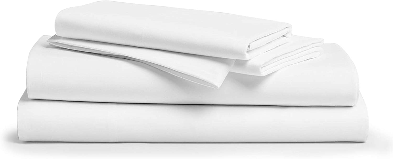 Comfy Sheets Deep Pocket Egyptian Cotton Sheet, 4-Piece