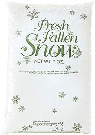 Department 56 Village Fresh Fallen Snow, 7 oz