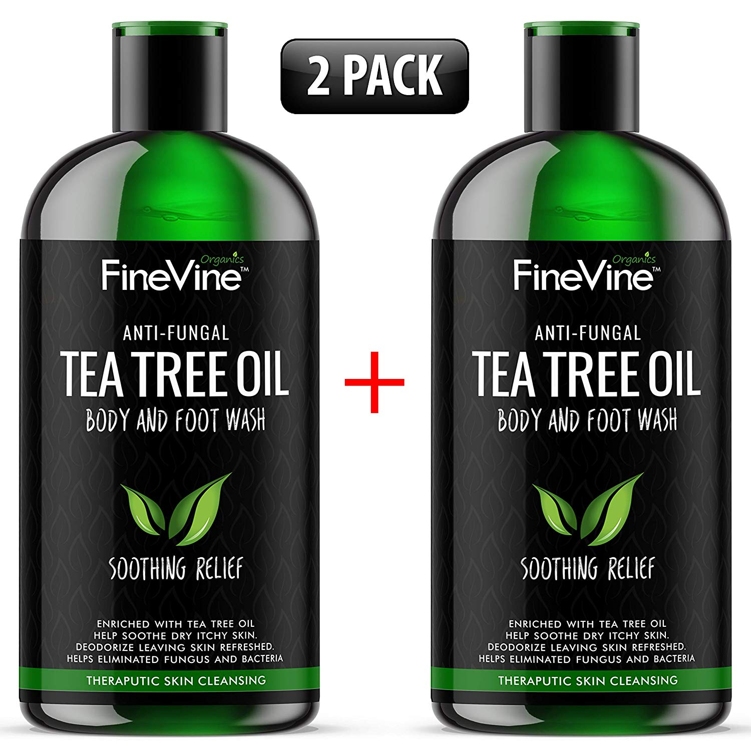 FineVine Organic Body Wash, Tea Tree Oil