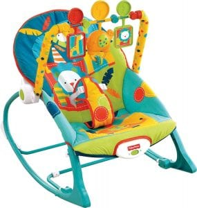 Fisher-Price Circus Celebration Infant-To-Toddler Rocker Baby Jumper