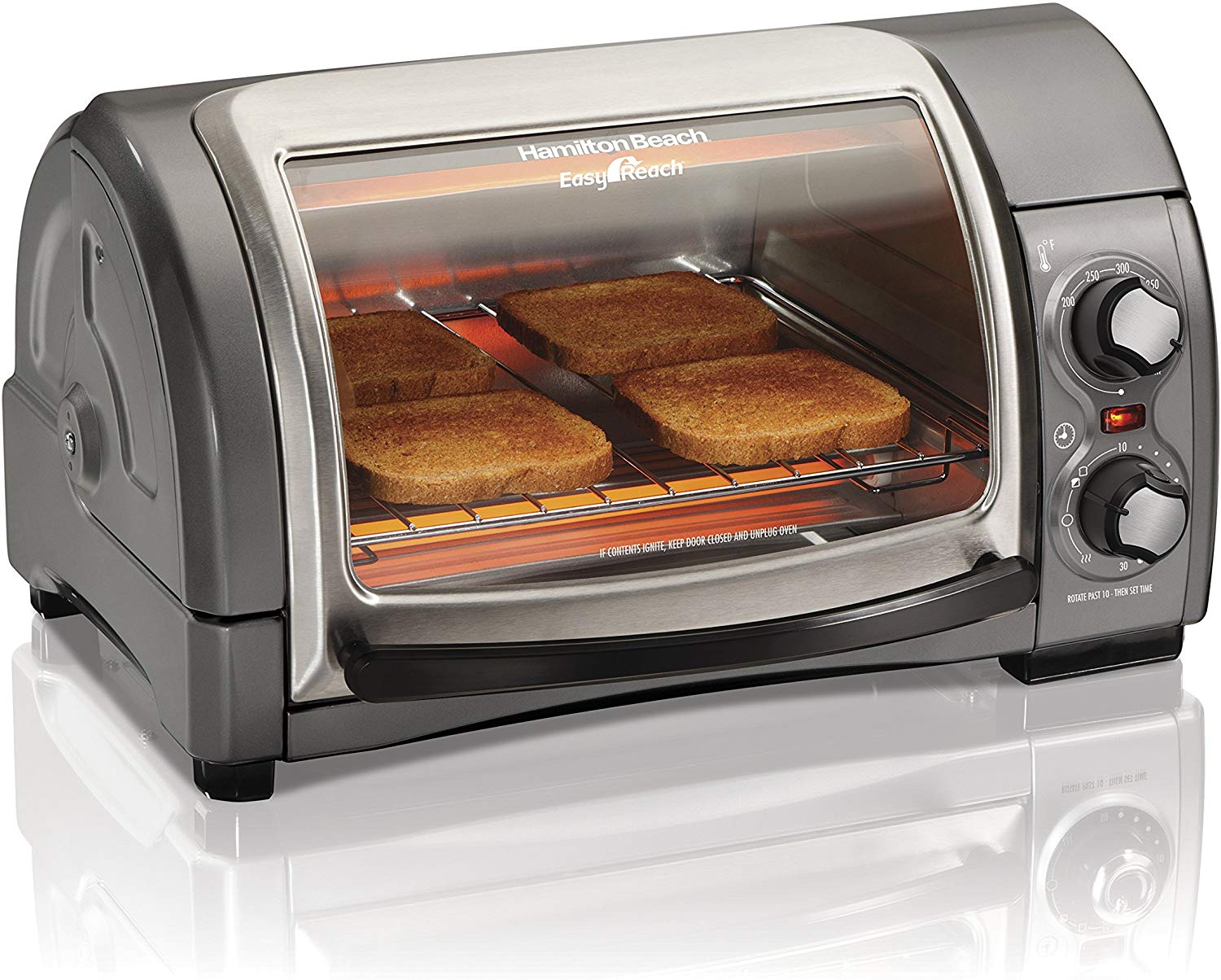 Hamilton Beach 31344D Roll Top Toaster