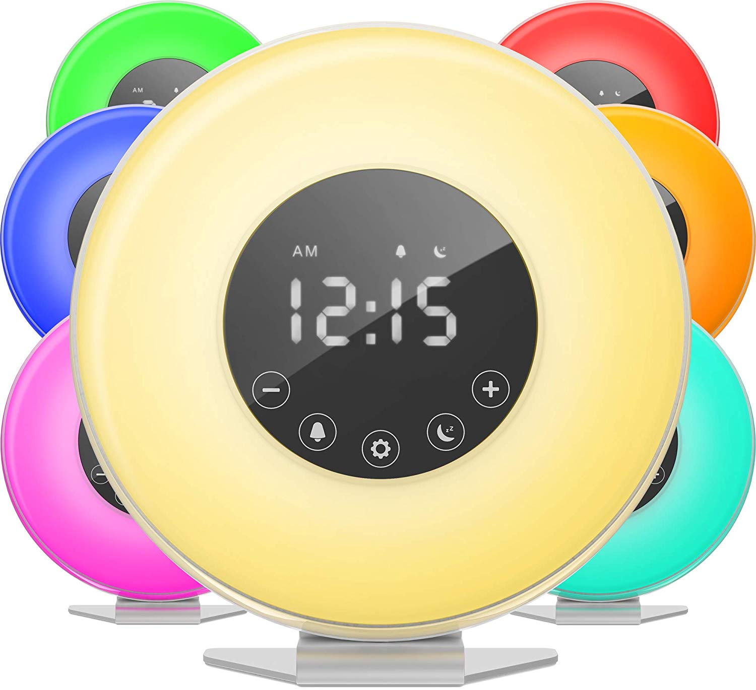 hOmeLabs Sunrise Simulation Alarm Clock