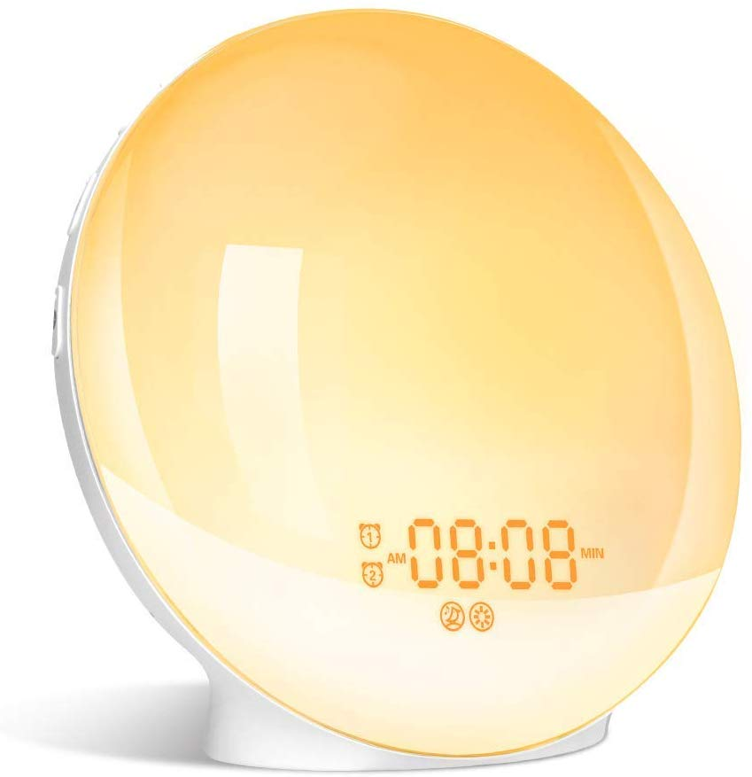 LBell Colored Sunrise Simulation Alarm Clock