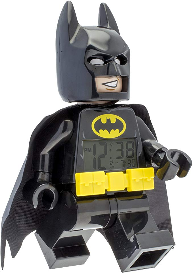 LEGO Batman Minifigure Light Up Alarm Clock