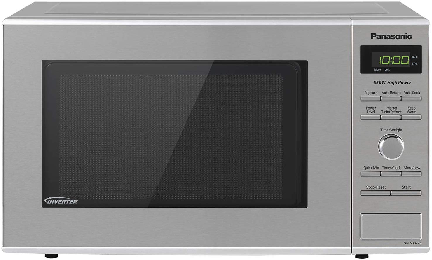 Panasonic NN SD372S Countertop Microwave