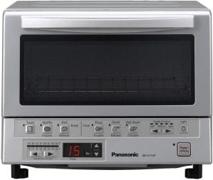 Panasonic NB-G110P 1300-Watt FlashXpress Compact Double Infrared Toaster Oven