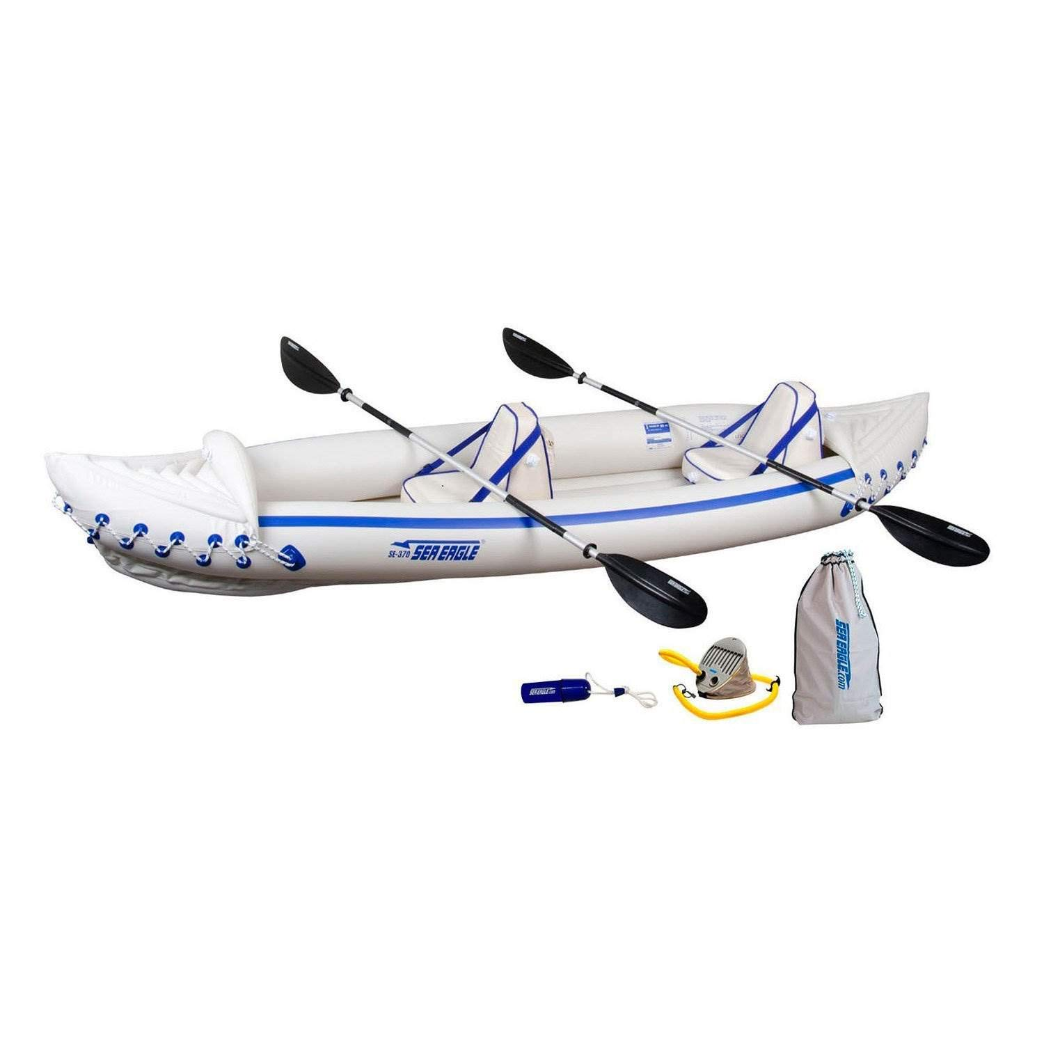 Sea Eagle 370 Pro Inflatable Kayak, 12-Feet