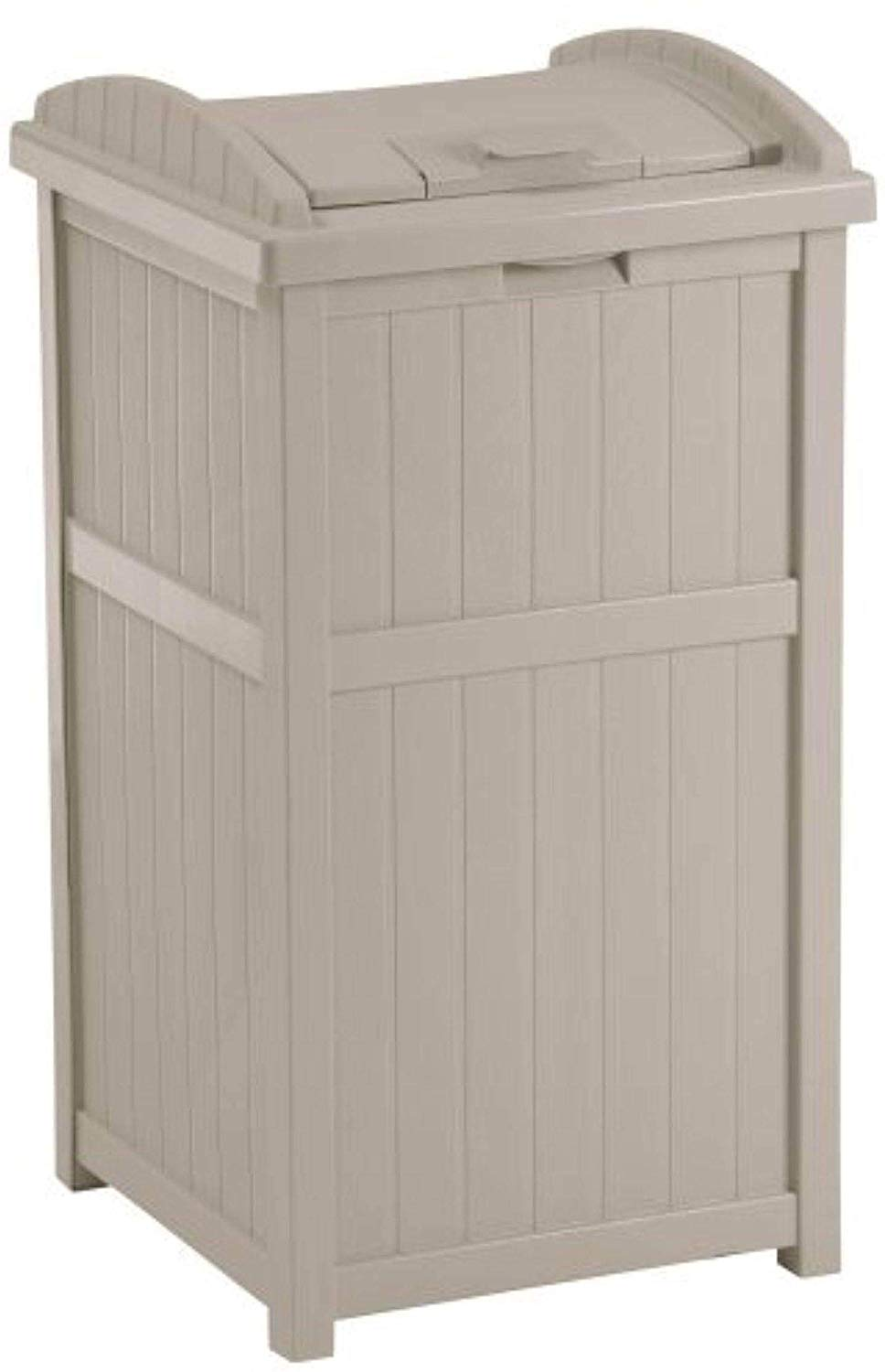 Suncast Outdoor Trash Can, 33 Gallon