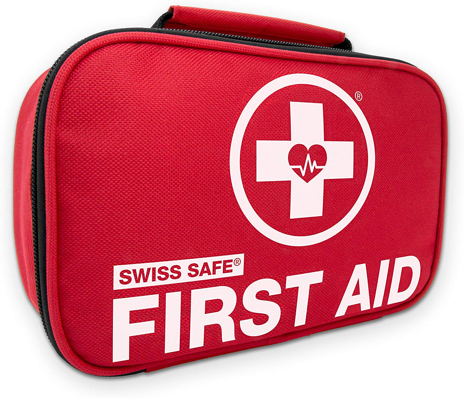 Swiss Safe 2-in-1 First Aid Kit, 120 Piece