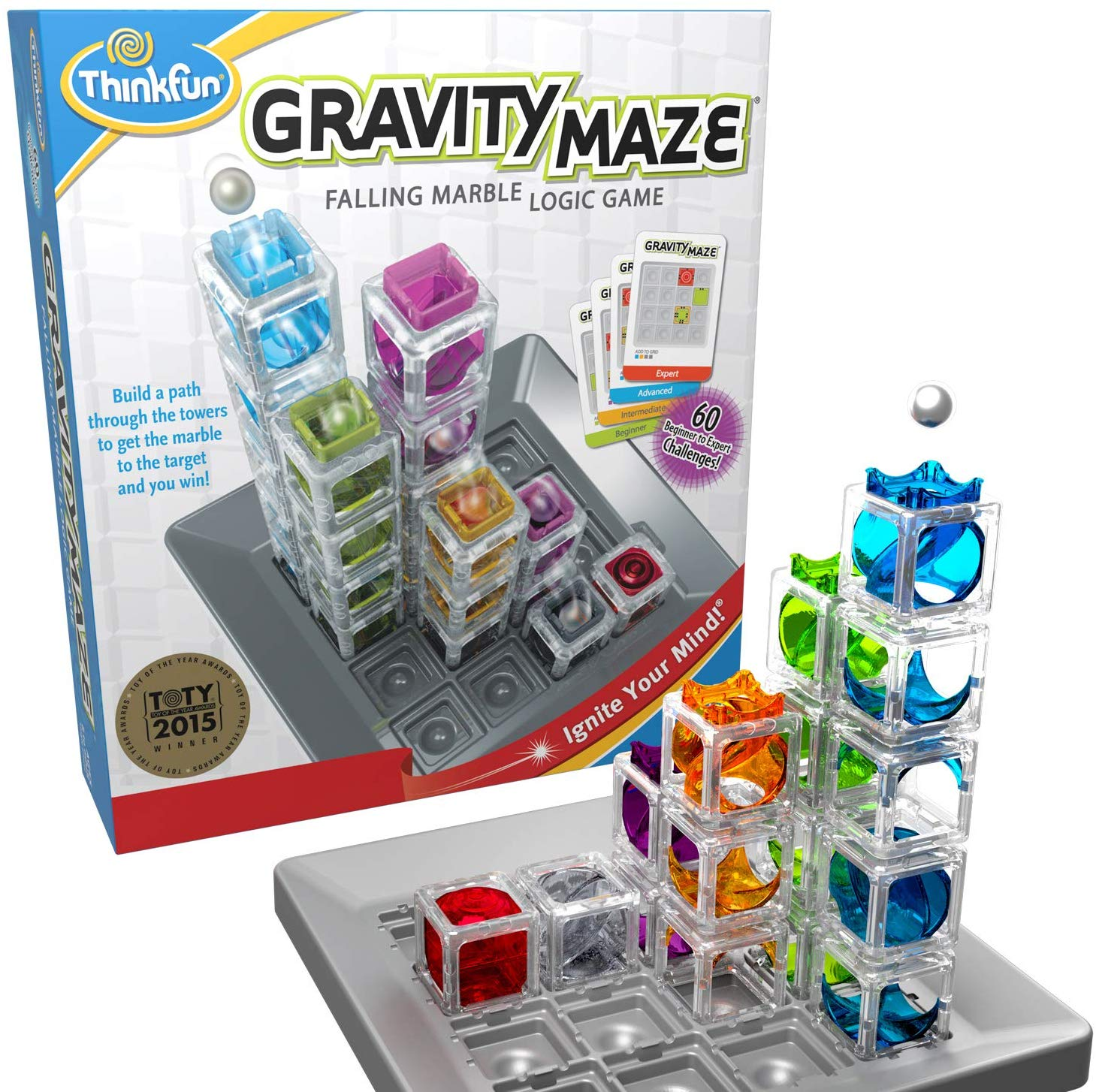Think Fun Gravity Maze Marble Game and STEM Toy